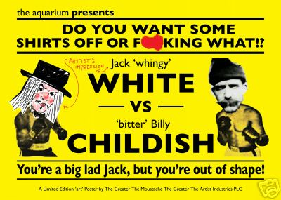 The Latest in the Jack White/Billy Childish Row