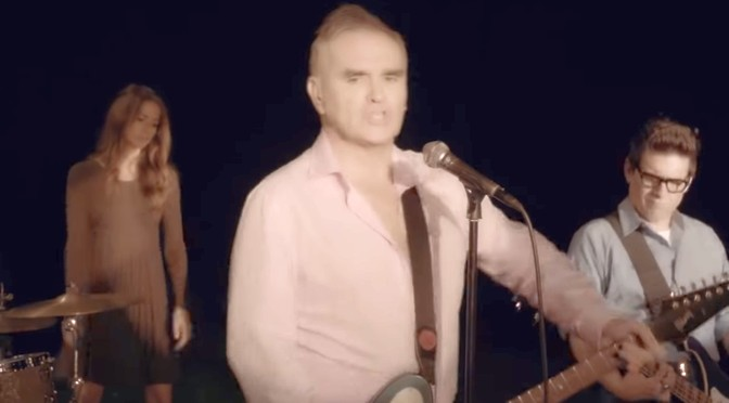 New Morrissey video: Back on the Chain Gang