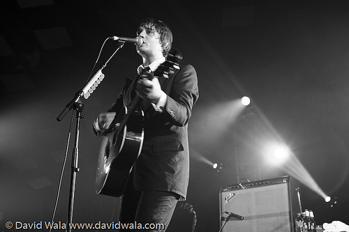 Peter Doherty in Glasgow, September 24, 2009