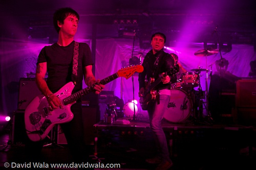 he Cribs with Johnny Marr Live in Newcastle