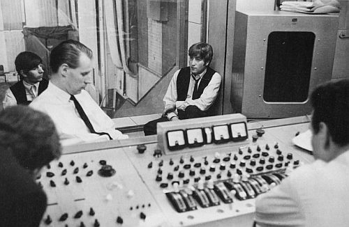 In the studio, 1964