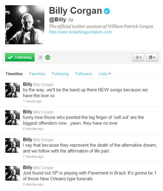 Billy Corgan vs. Pavement