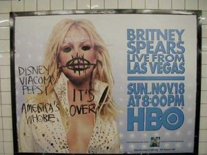 Defacing Britney, New York's Newest Folk Art