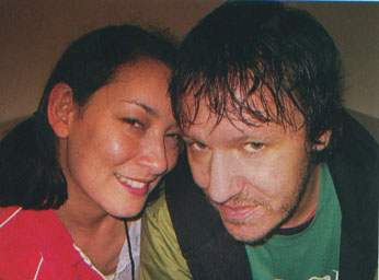 Elliott Smith and Jennifer Chiba