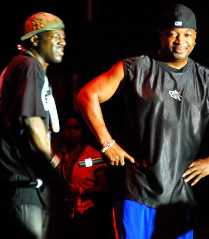 Flavor in the house by Chuck-D's side...