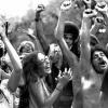 Summer concert crowds