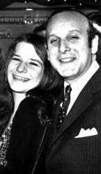 Clive Davis with Janis Joplin
