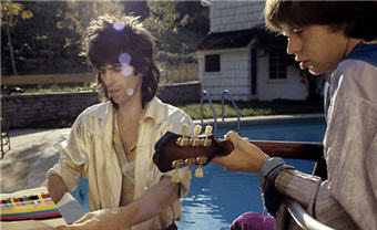 Mick Jagger and Keith Richards, 1969