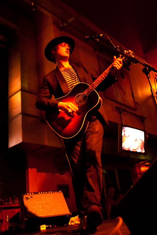 Peter Doherty Live in Barnsley