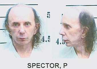 Phil Spector, photographed by the California Department of Corrections and Rehabilitation in June 2009