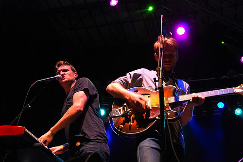 Cold War Kids at Rothbury 2009