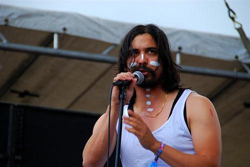 Man Man at Rothbury 2009
