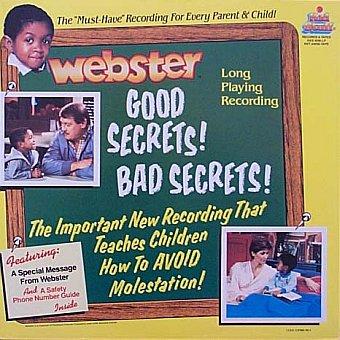 Webster - Good Secrets! Bad Secrets!