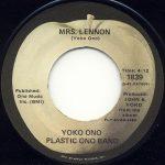 Yoko Ono - Mrs Lennon