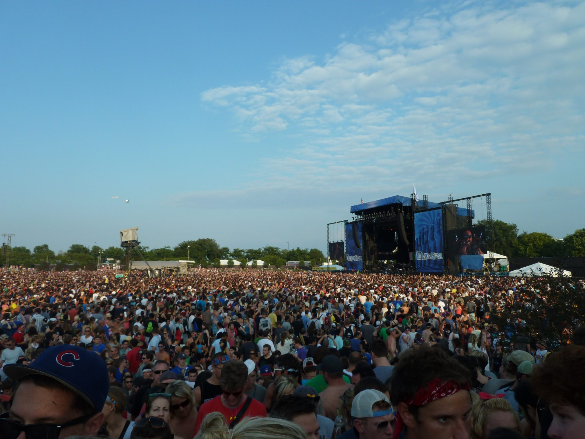 Lollapalooza 2012 Lineup (with MP3s)