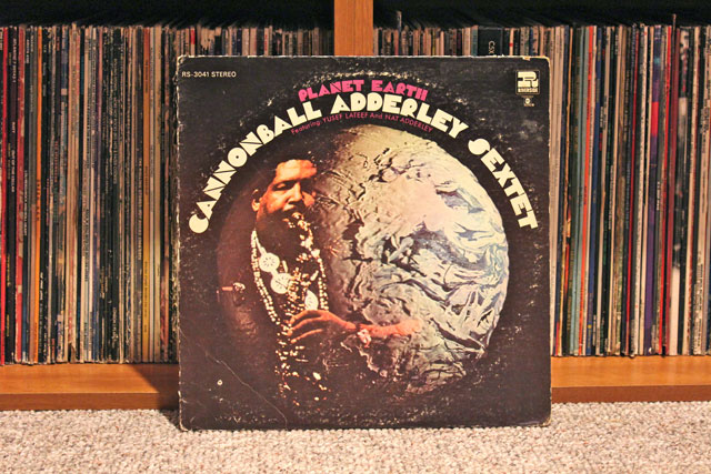 My Vinyl Solution #0004: Cannonball Adderley Sextet – Planet Earth