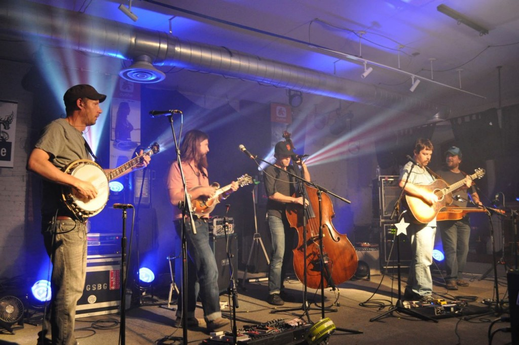 Greensky Bluegrass at The Loft in Lansing, April 12, 2012