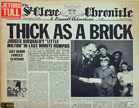 Jethro Tull – Thick As A Brick