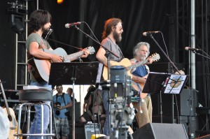 Weir, Robinson, Greene Trio at Summer Camp 2012