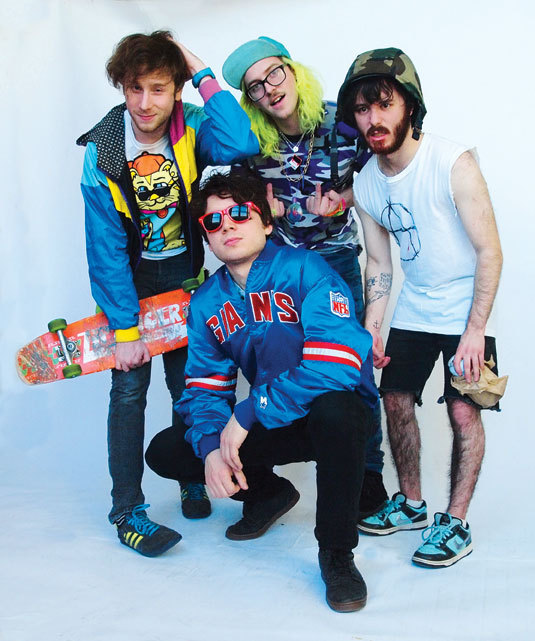 Ten Questions We Ask Lollapalooza Performers: Anamanaguchi