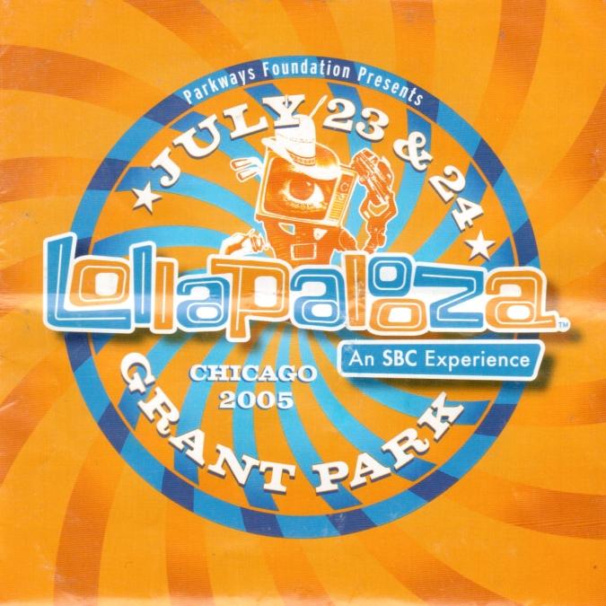 Lollapalooza 2005 program