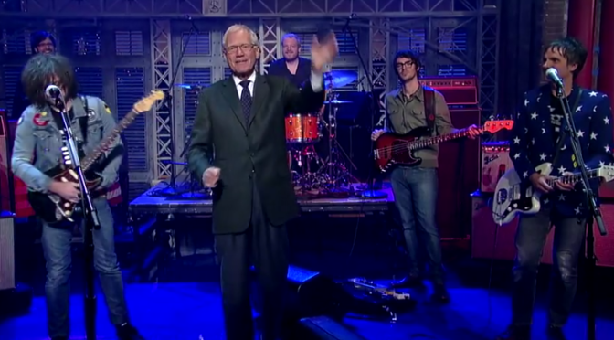 David Letterman Loves Some Ryan Adams