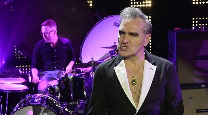 New Morrissey video: Kiss Me a Lot