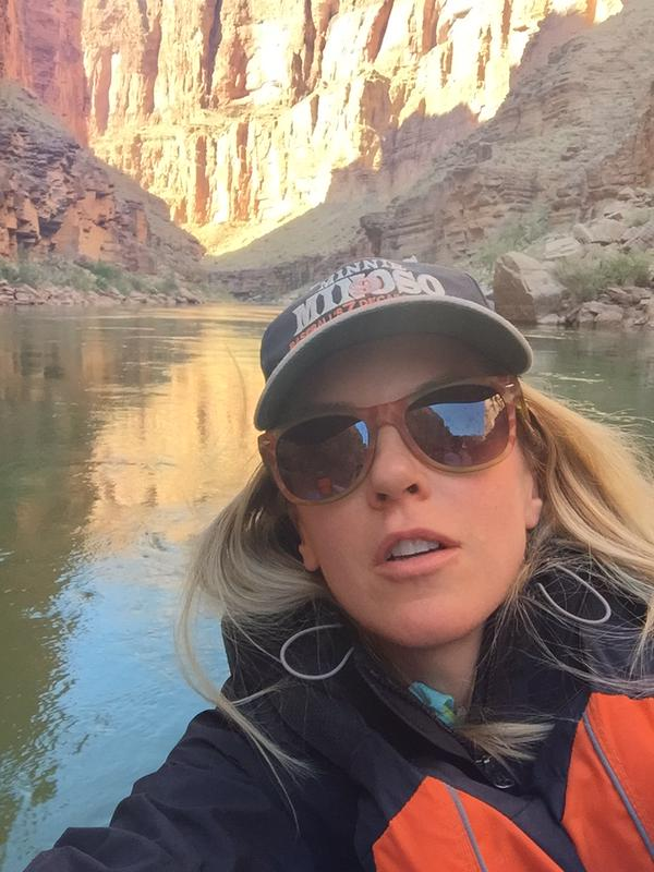 Liz Phair Grand Canyon Selfie