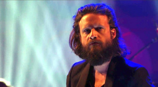 Father John Misty does Honeybear live on Conan
