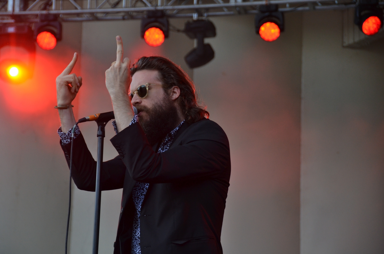 Father John Misty on the Palladia stage on Friday, July 31, 2015