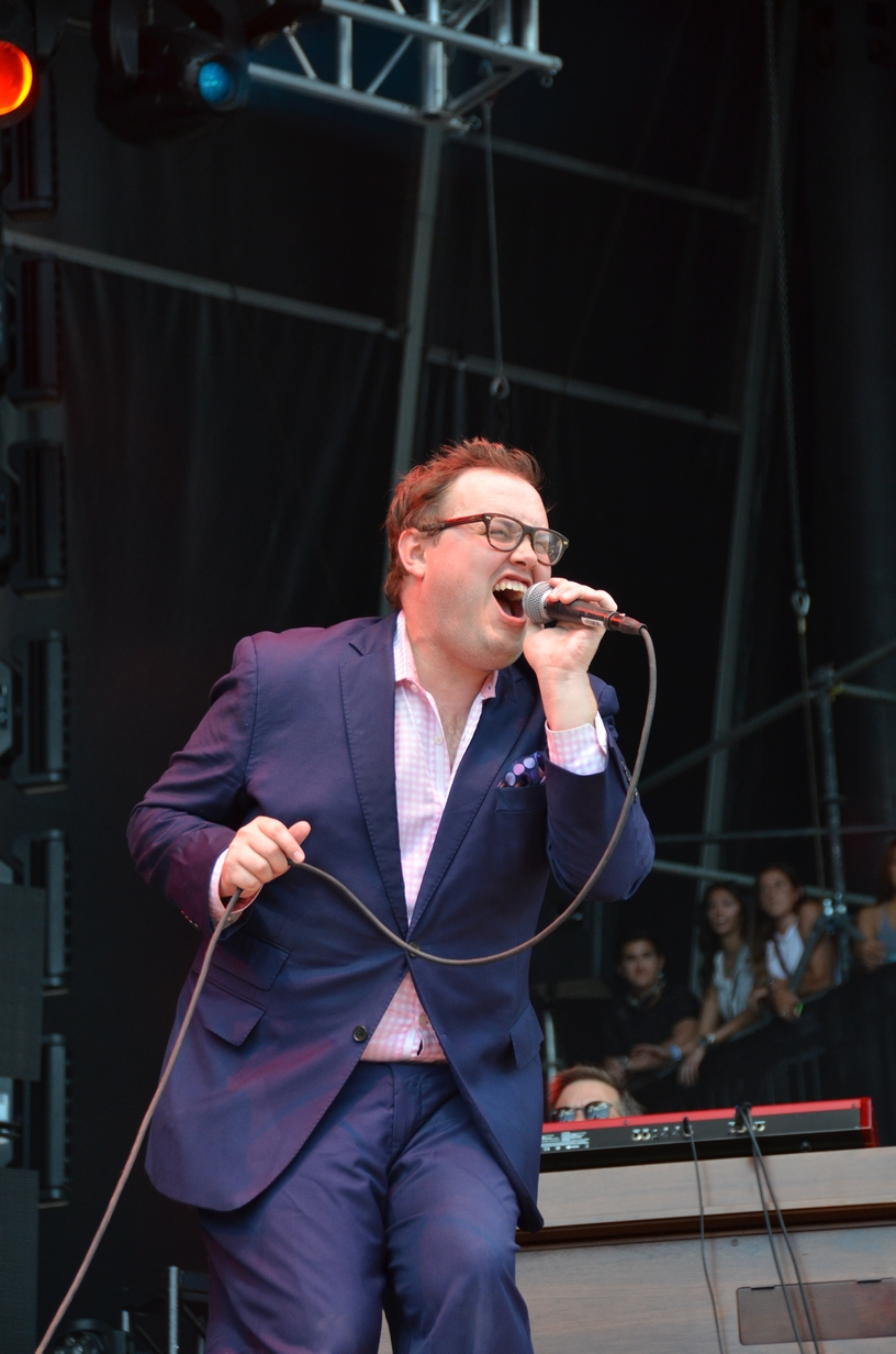 St. Paul and the Broken Bones on the Bud Light stage on Friday, July 31, 2015
