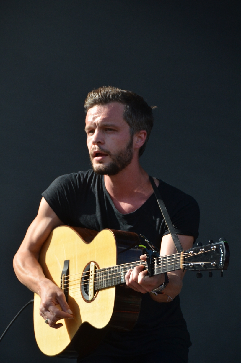 Tallest Man on Earth on the Bud Light stage on Saturday, August 1, 2015