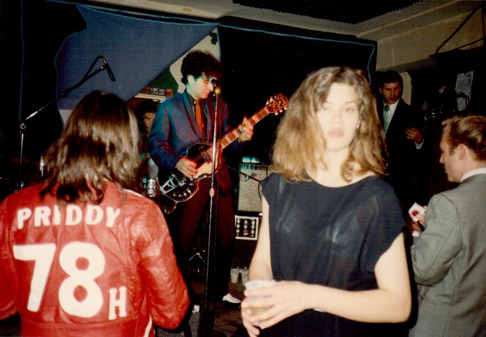Tav Falco at Muddy Waters 1993