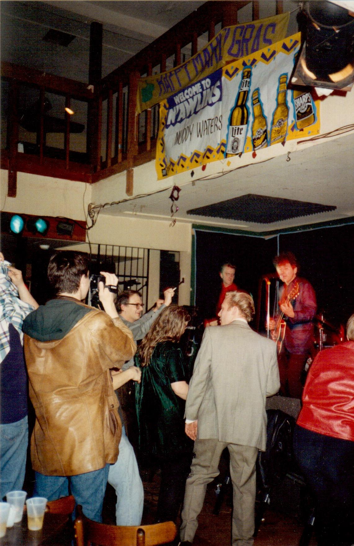 Tav Falco at Muddy Waters Mardi Gras 1993