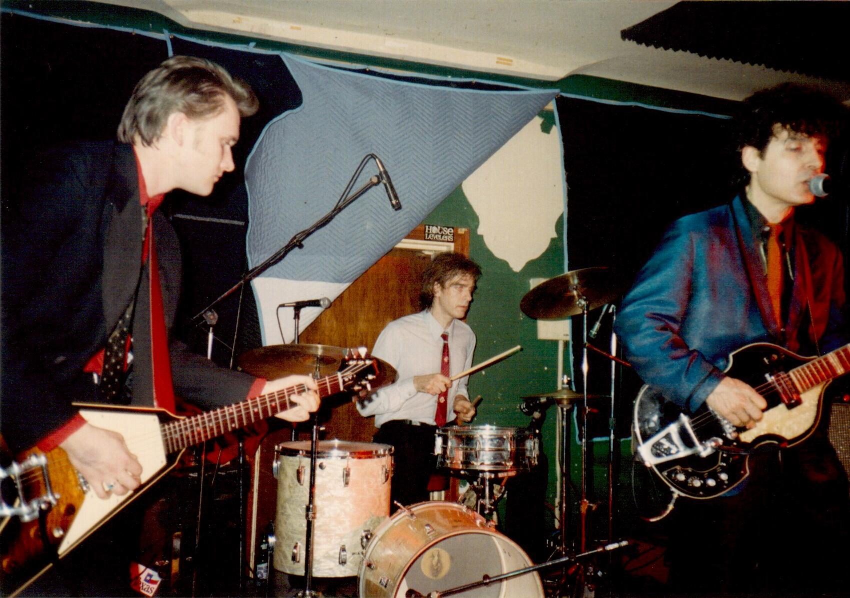 Tav Falco at Muddy Waters Panther Burns 1993