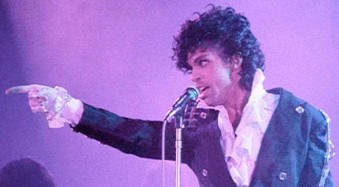Thank you for a funky time, Prince