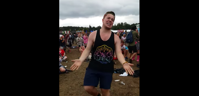 Watch This Bro Get His Funk On