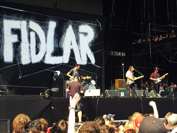 FIDLAR on the Bud Light stage on Sunday