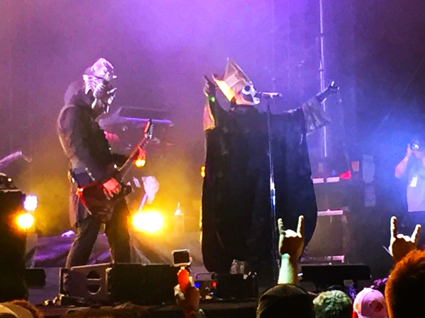 Ghost on the Pepsi stage on Friday