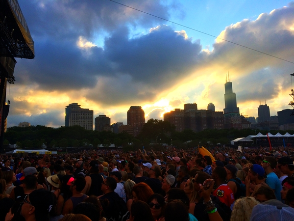 Lollapalooza 2016 crowd