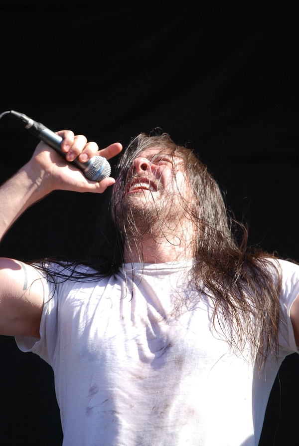 Andrew WK at the Rise stage on Sunday