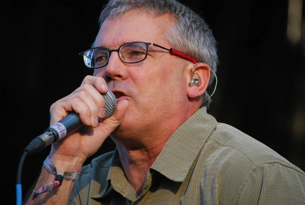 Descendents at the Rock stage on Saturday