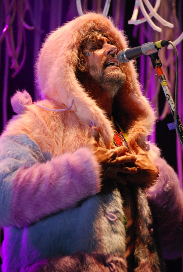 Flaming Lips at the Riot stage on Friday