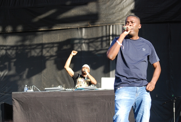 GZA at the Rise stage on Saturday