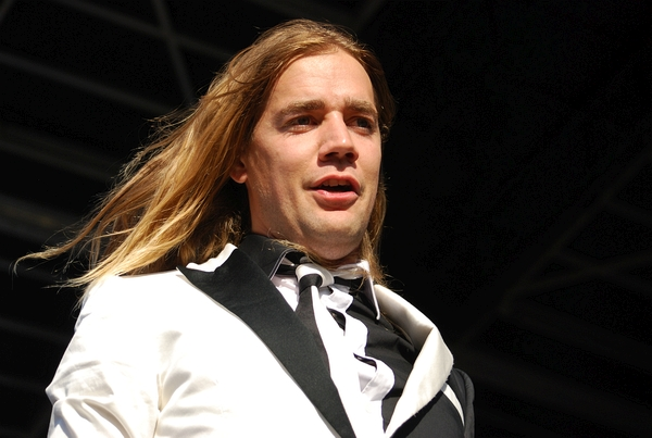 The Hives at the Rock stage on Saturday