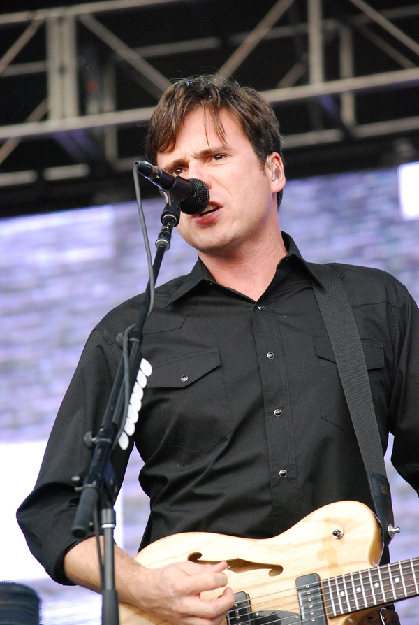 Jimmy eat World at the Riot stage on Friday