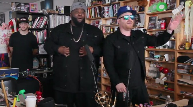 Killer Mike and El-P find out if NPR has rhythm