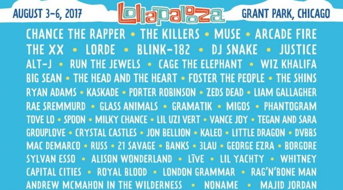 Lollapalooza 2017 lineup: Look familiar?