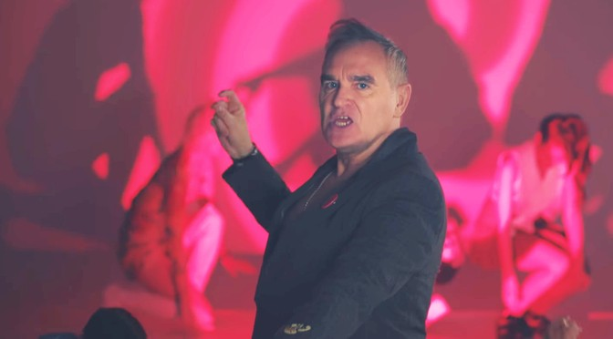 New Morrissey video: Jacky's Only Happy