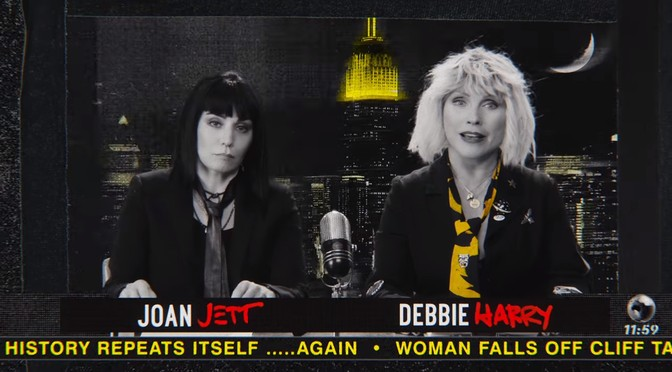 New Blondie video: Doom or Destiny ft. Joan Jett